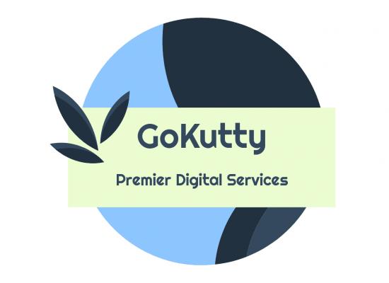 GoKutty Logo, Digital Agency; Digital Marketing; Responsive Websites; Web Portals; eCommerce; iOS Mobile App; Android Mobile Apps; Digital Marketing; SEO; SMO; SEM; SMM; GMB; ORM; Local Citations; PPC Ads; Google Ads; Facebook Ads; LinkedIn Ads; GoKutty.com;